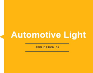 APPLICATION-Automotive Light