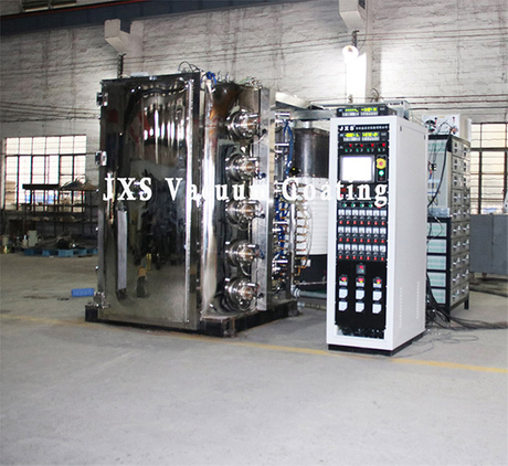 Automobile Car Exhaust Pipe PVD Titanium Coating Machine